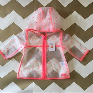 Gymboree baby raincoat